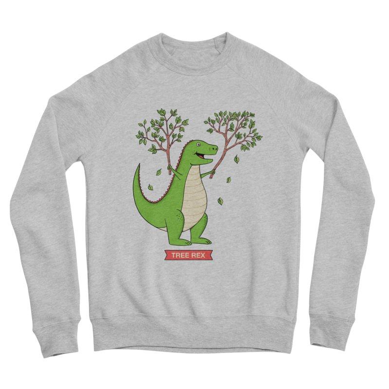 Tree Rex Men's Sponge Fleece Sweatshirt by coffeeman's Artist Shop