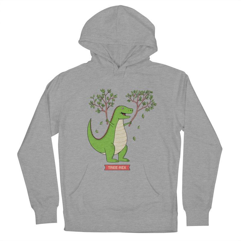 Tree Rex Women's Pullover Hoody by coffeeman's Artist Shop