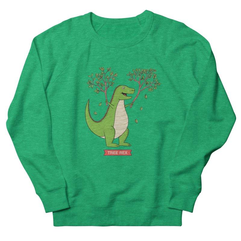 Tree Rex Women's Sweatshirt by coffeeman's Artist Shop