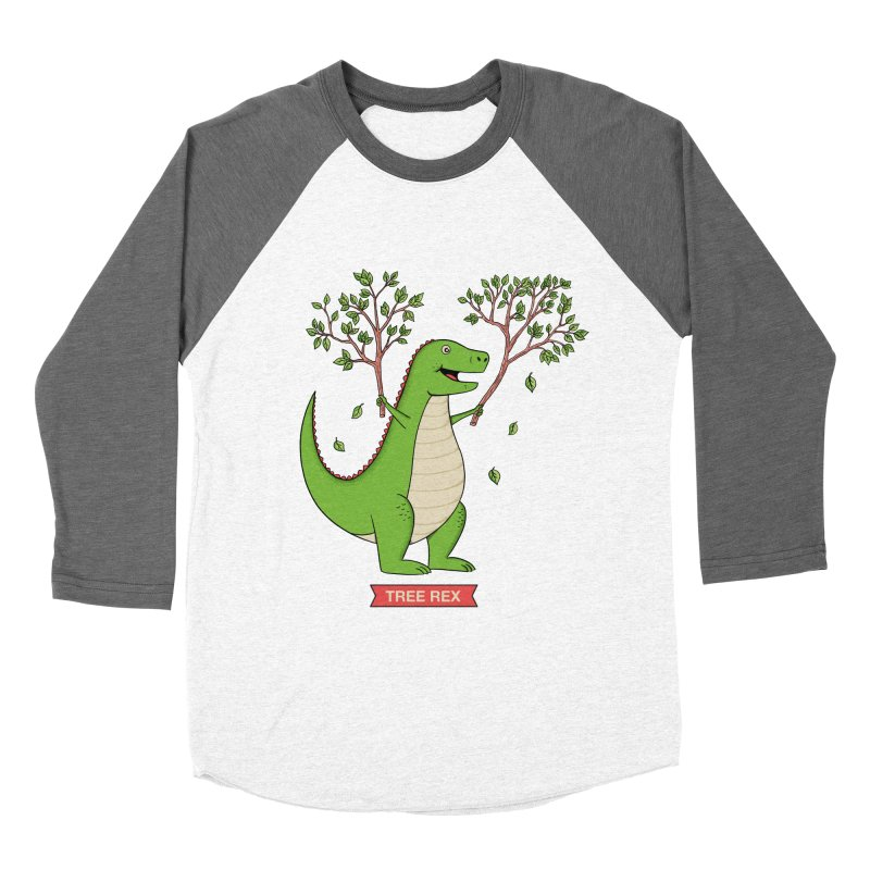 Tree Rex Women's Longsleeve T-Shirt by coffeeman's Artist Shop