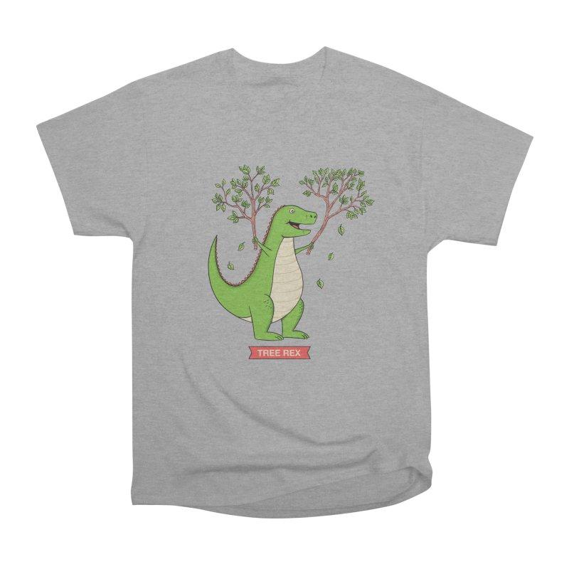 Tree Rex Men's Heavyweight T-Shirt by coffeeman's Artist Shop