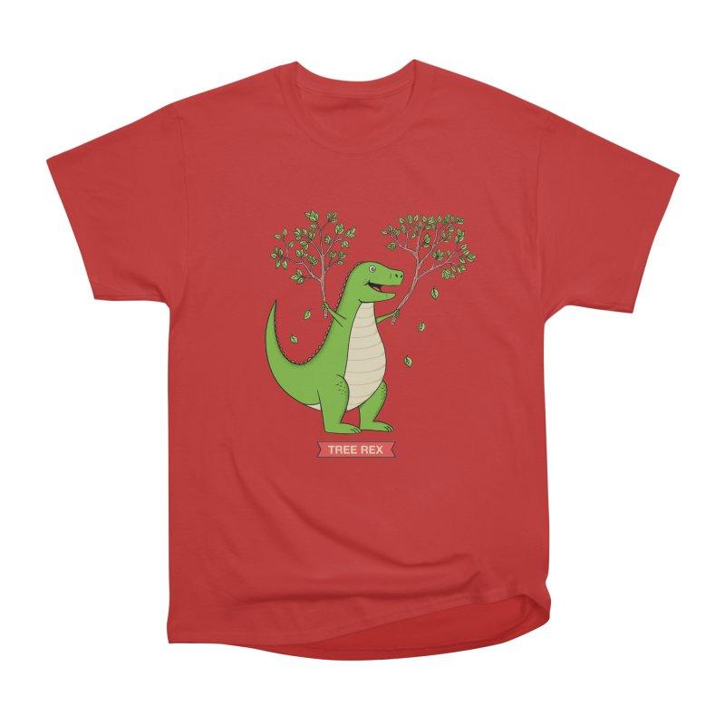 Tree Rex Women's Heavyweight Unisex T-Shirt by coffeeman's Artist Shop