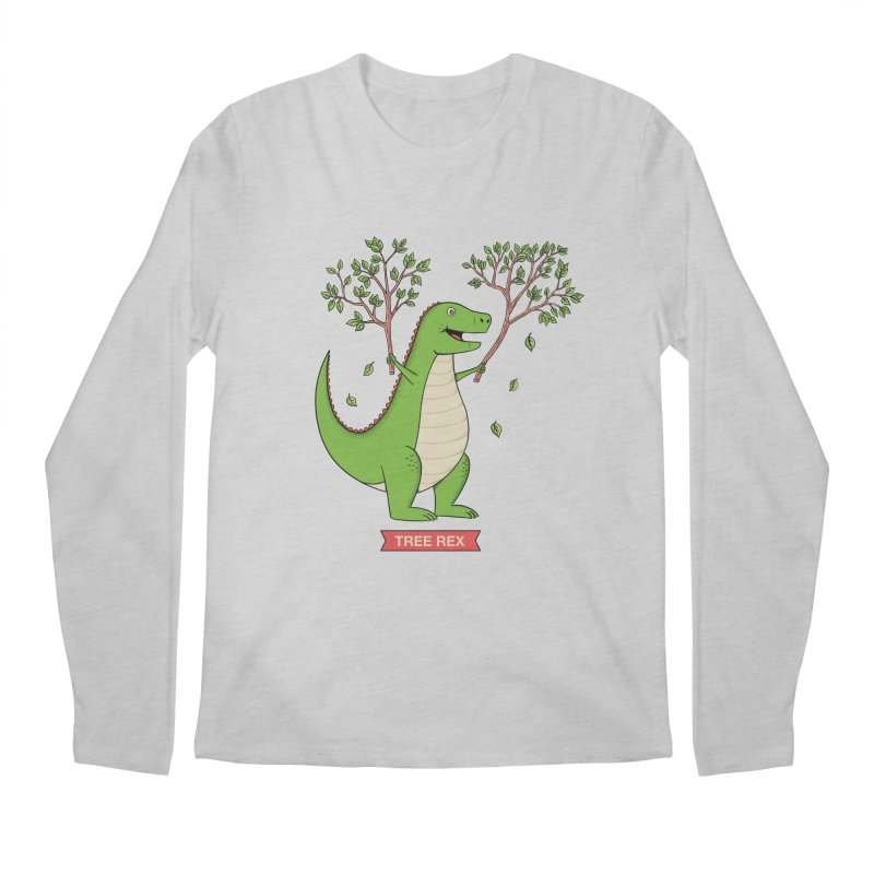 Tree Rex Men's Regular Longsleeve T-Shirt by coffeeman's Artist Shop