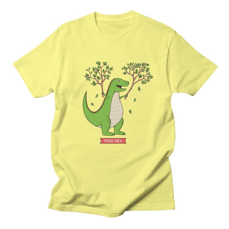 Tree Rex Women's Regular Unisex T-Shirt by coffeeman's Artist Shop