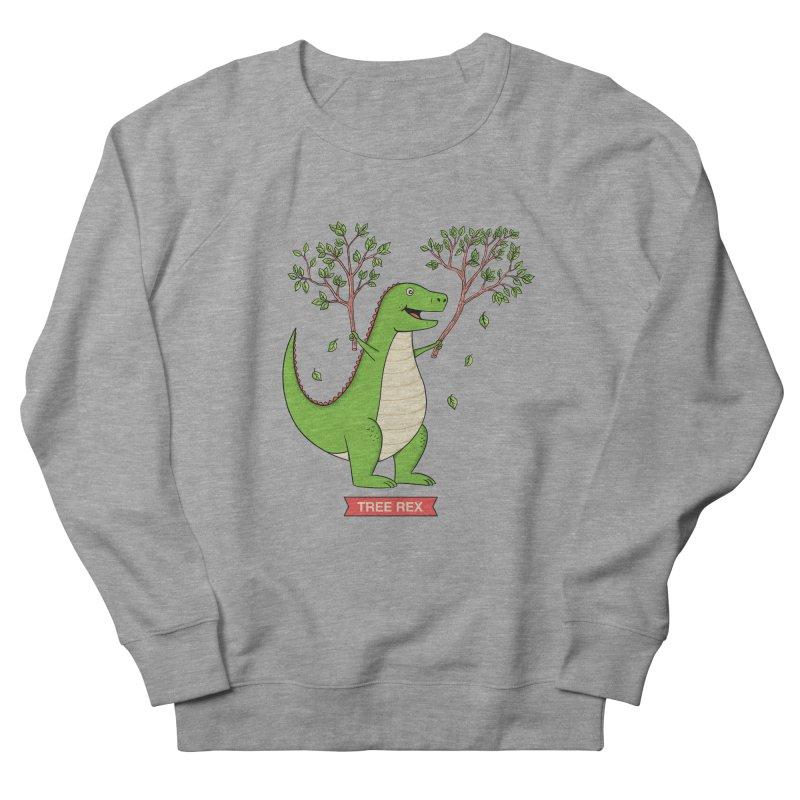 Tree Rex Men's French Terry Sweatshirt by coffeeman's Artist Shop