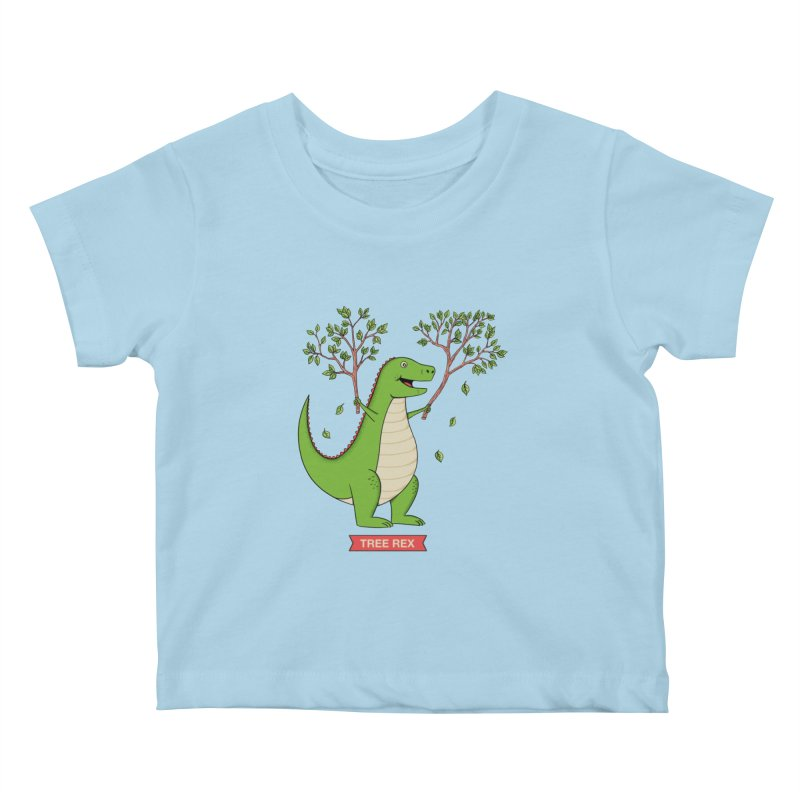 Tree Rex Kids Baby T-Shirt by coffeeman's Artist Shop