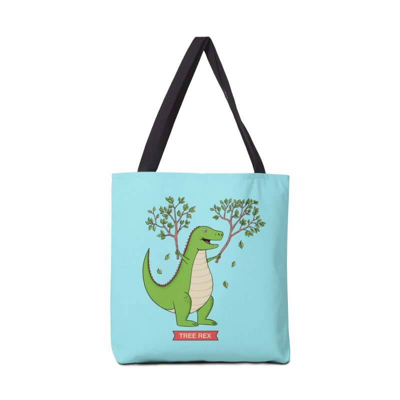 Tree Rex Accessories Tote Bag Bag by coffeeman's Artist Shop