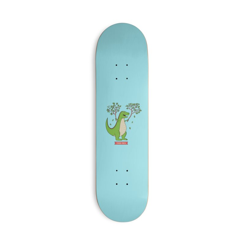 Tree Rex Accessories Deck Only Skateboard by coffeeman's Artist Shop