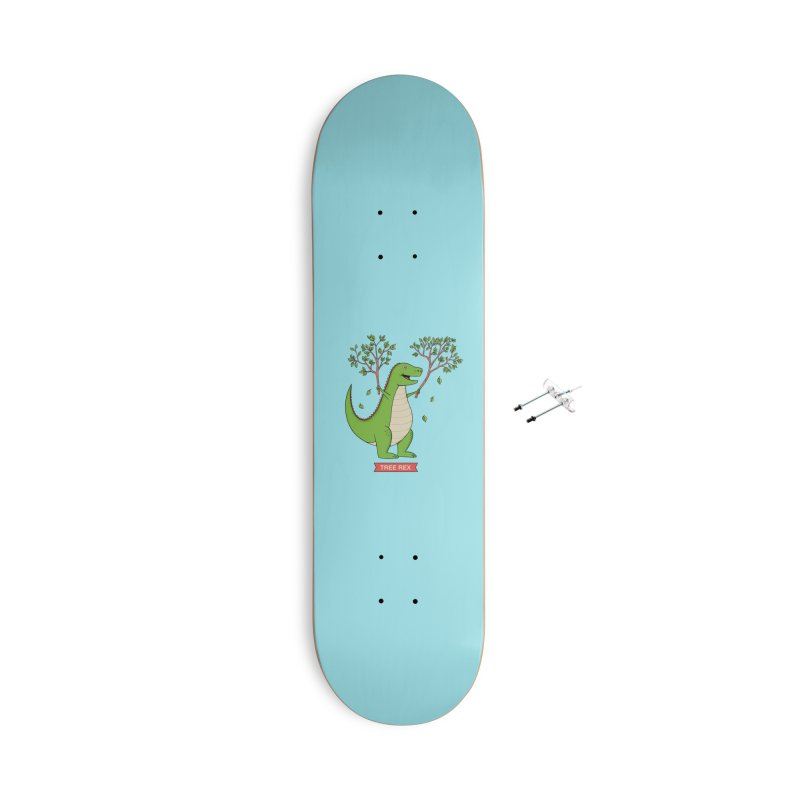 Tree Rex Accessories With Hanging Hardware Skateboard by coffeeman's Artist Shop