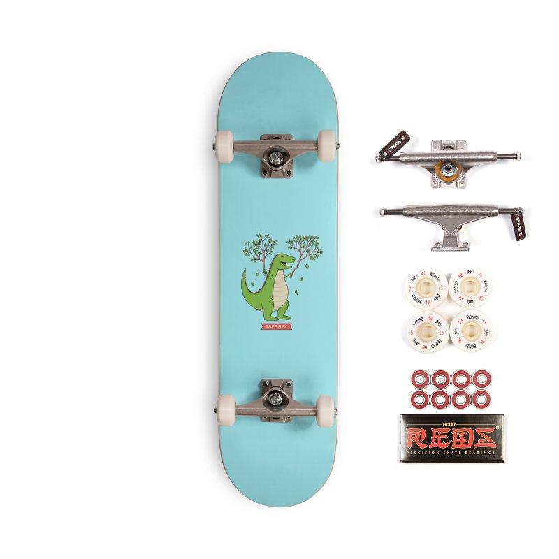 Tree Rex Accessories Complete - Pro Skateboard by coffeeman's Artist Shop