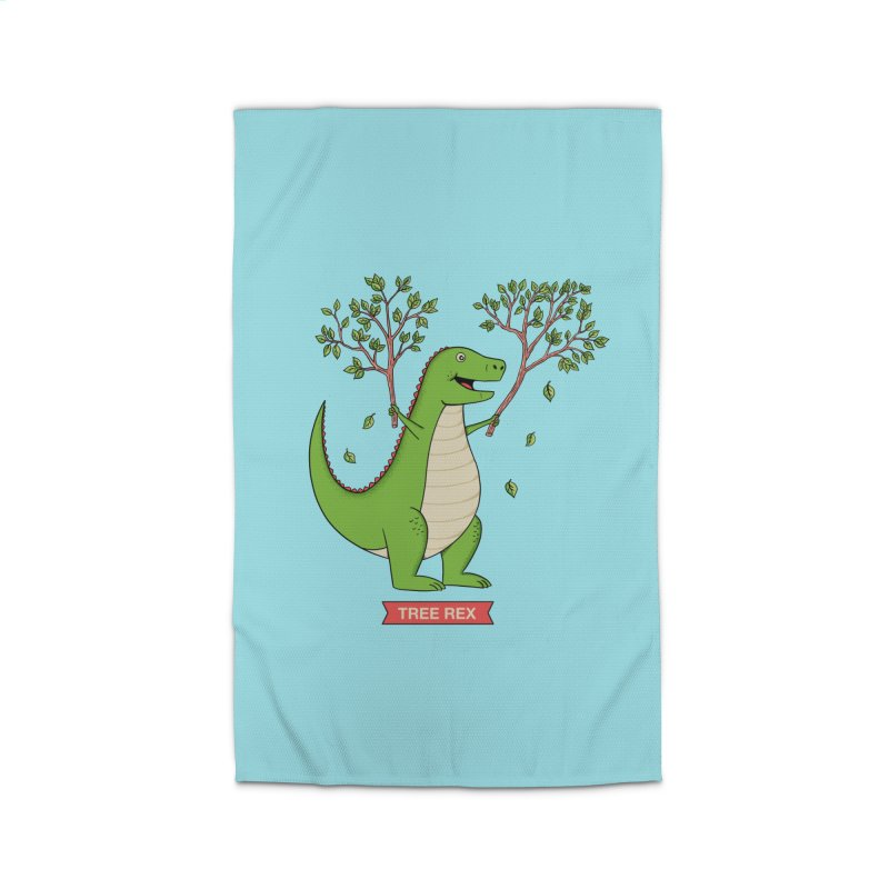 Tree Rex Home Rug by coffeeman's Artist Shop