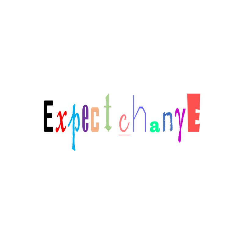 Expect change Men's T-Shirt by coffeemusicreading's Artist Shop