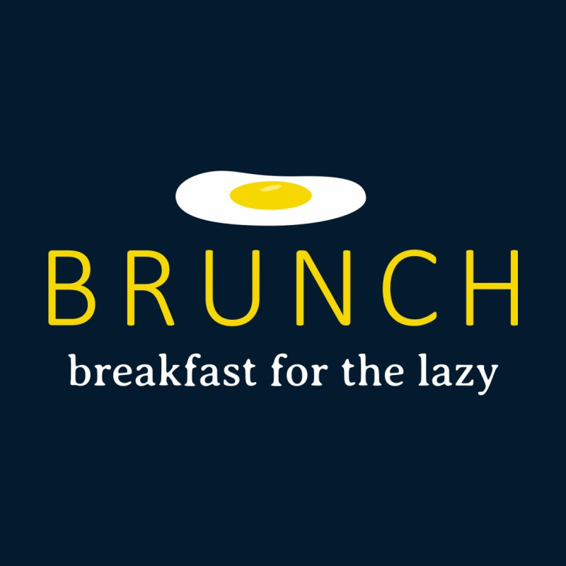 Brunch Breakfast for the Lazy Home Mounted Aluminum Print by Coffee Pine Studio