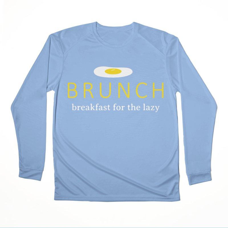 Brunch Breakfast for the Lazy Men's Longsleeve T-Shirt by Coffee Pine Studio