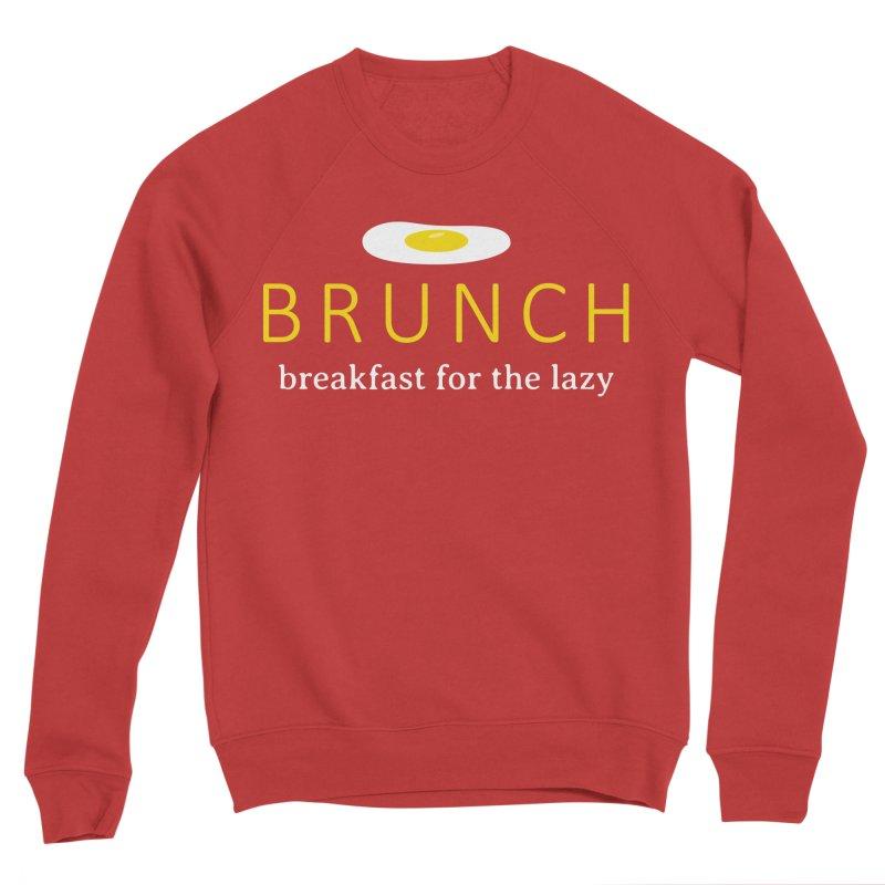 Brunch Breakfast for the Lazy Men's Sponge Fleece Sweatshirt by Coffee Pine Studio