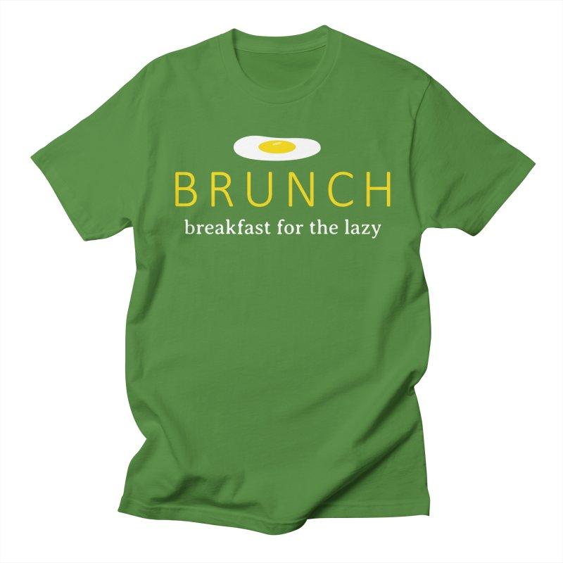 Brunch Breakfast for the Lazy Women's Regular Unisex T-Shirt by Coffee Pine Studio