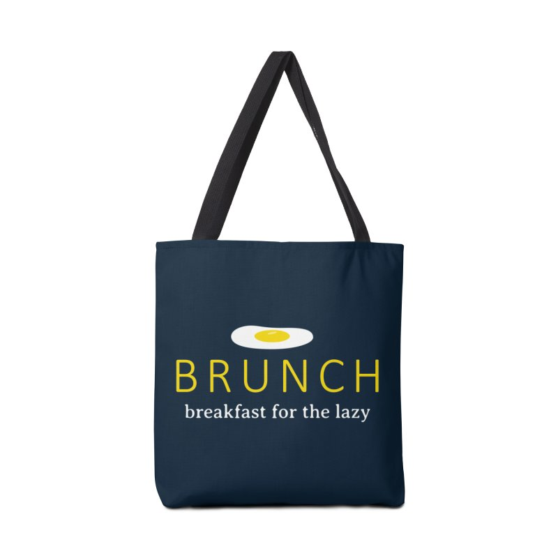 Brunch Breakfast for the Lazy Accessories Bag by Coffee Pine Studio