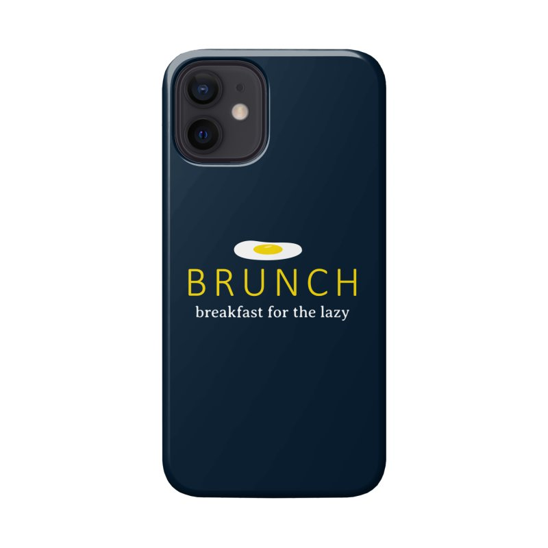 Brunch Breakfast for the Lazy Accessories Phone Case by Coffee Pine Studio