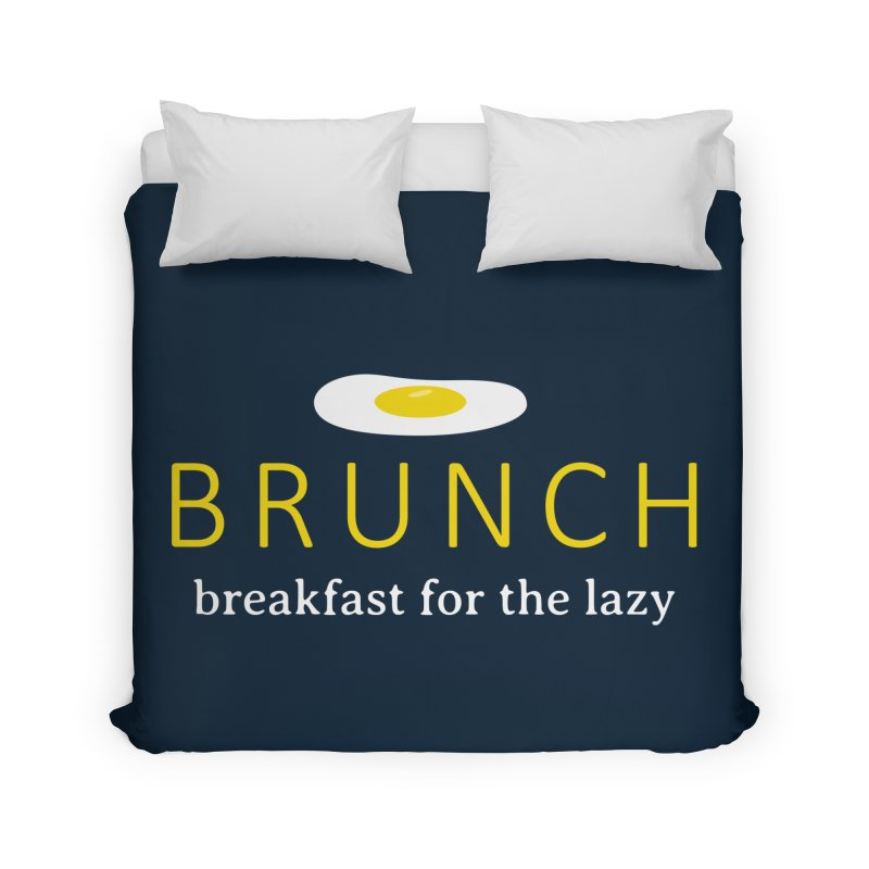 Brunch Breakfast for the Lazy Home Duvet by Coffee Pine Studio