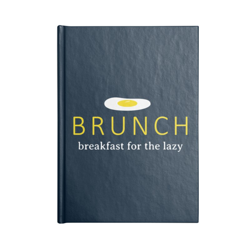 Brunch Breakfast for the Lazy Accessories Notebook by Coffee Pine Studio
