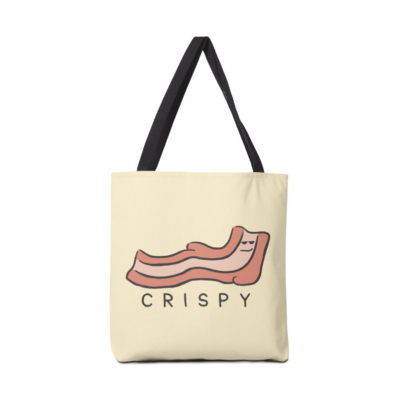 Crispy Accessories Tote Bag Bag by Coffee Pine Studio