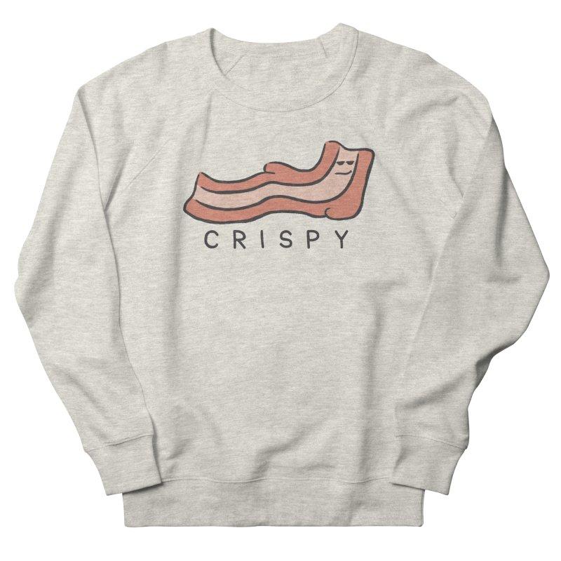 Crispy Women's French Terry Sweatshirt by Coffee Pine Studio