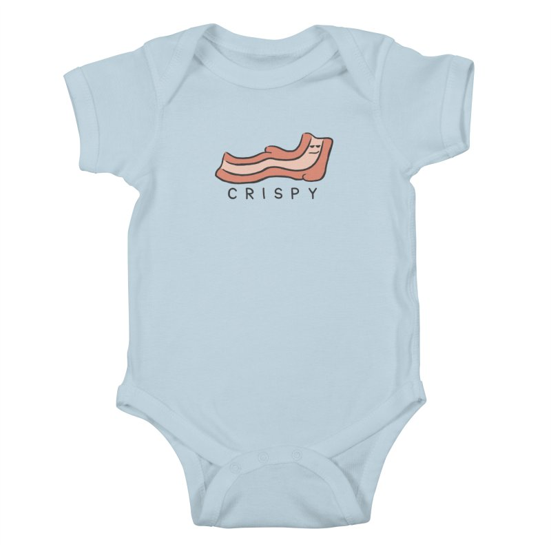 Crispy Kids Baby Bodysuit by Coffee Pine Studio