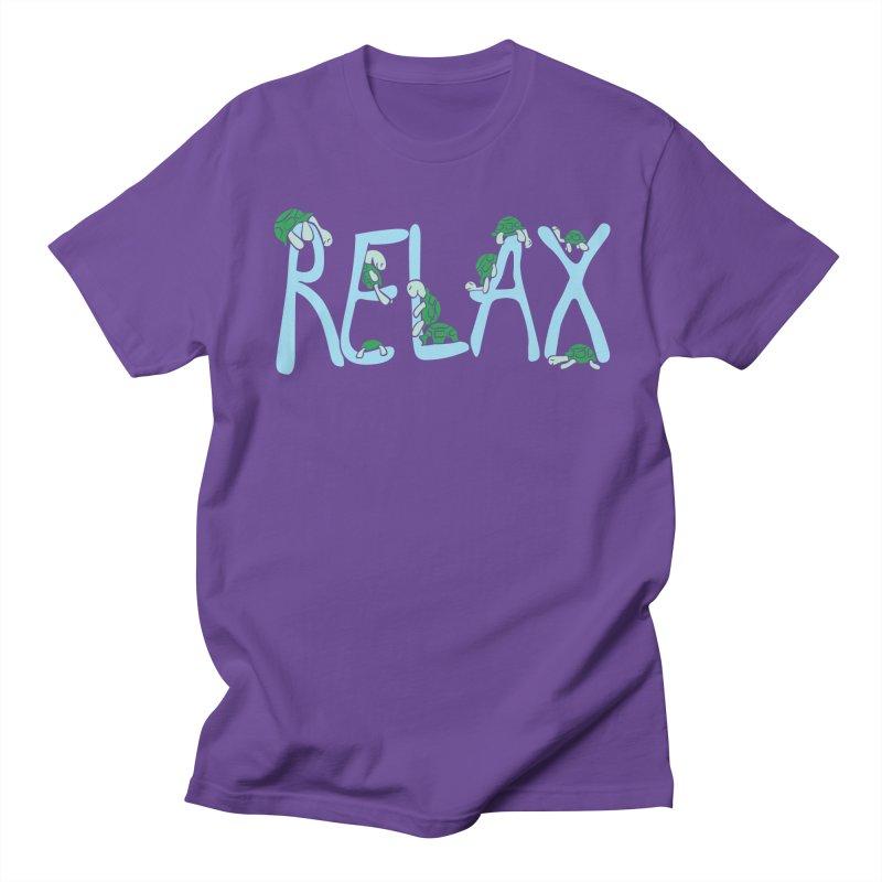 Relax Women's Unisex T-Shirt by Coffee Pine Studio