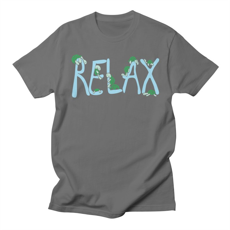 Relax Women's Regular Unisex T-Shirt by Coffee Pine Studio