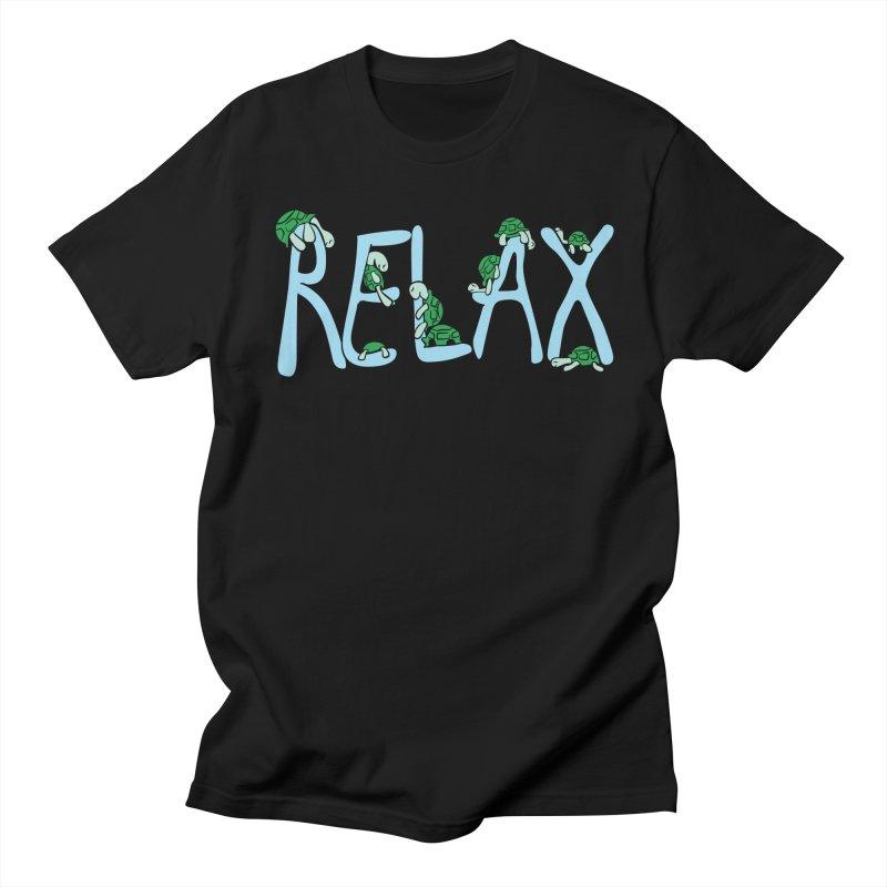 Relax Men's T-Shirt by Coffee Pine Studio