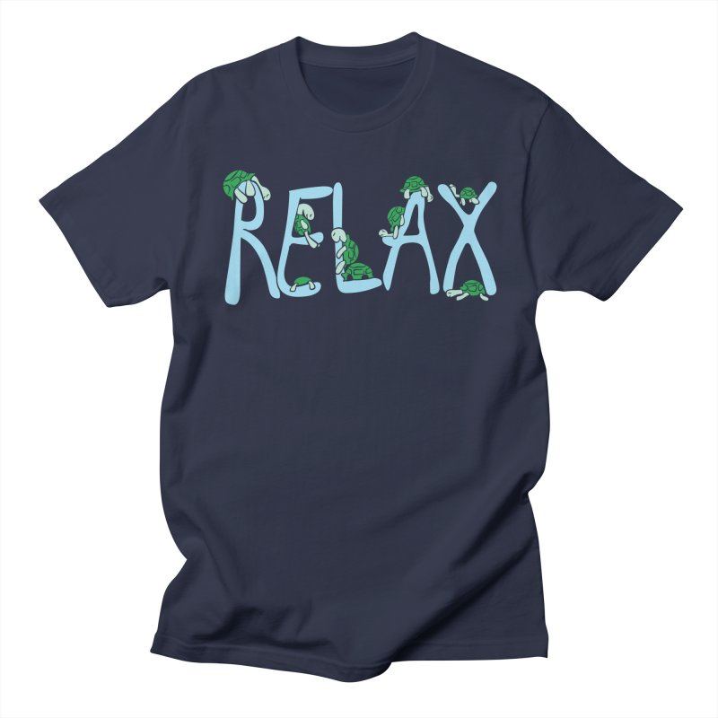 Relax Men's T-shirt by Coffee Pine Studio