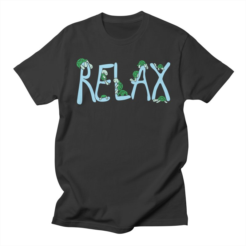 Relax Men's Regular T-Shirt by Coffee Pine Studio