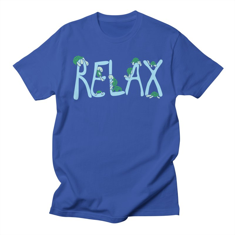 Relax Women's Unisex T-Shirt by Coffee Pine Studio