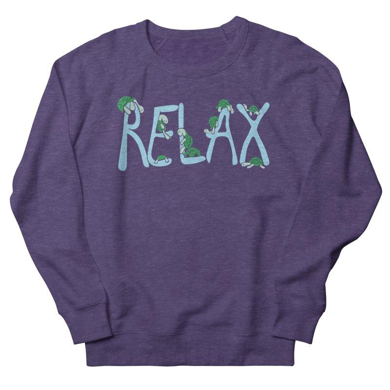 Relax Men's Sweatshirt by Coffee Pine Studio