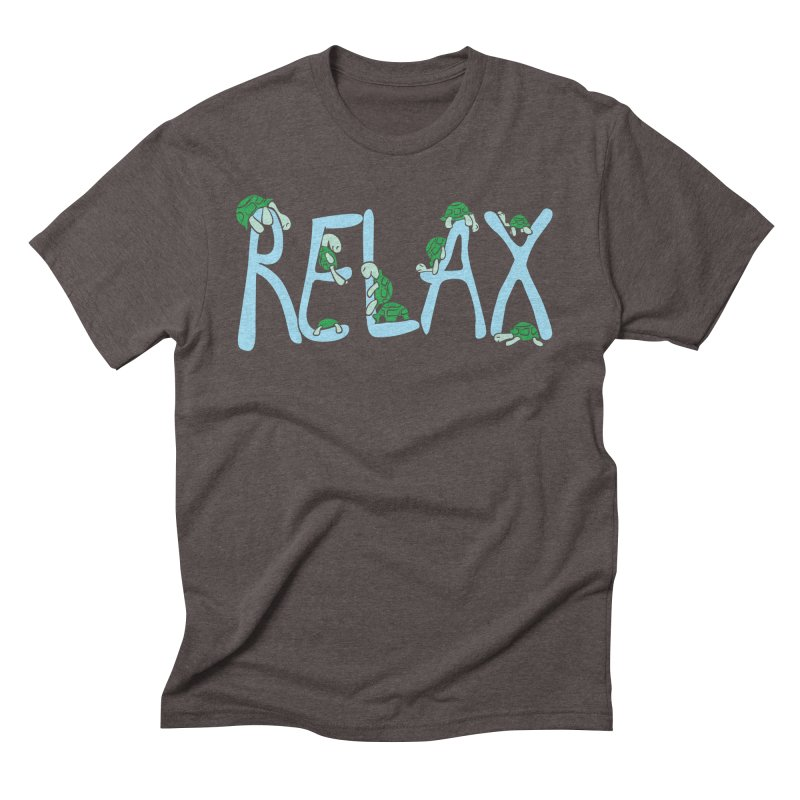 Relax Men's Triblend T-shirt by Coffee Pine Studio