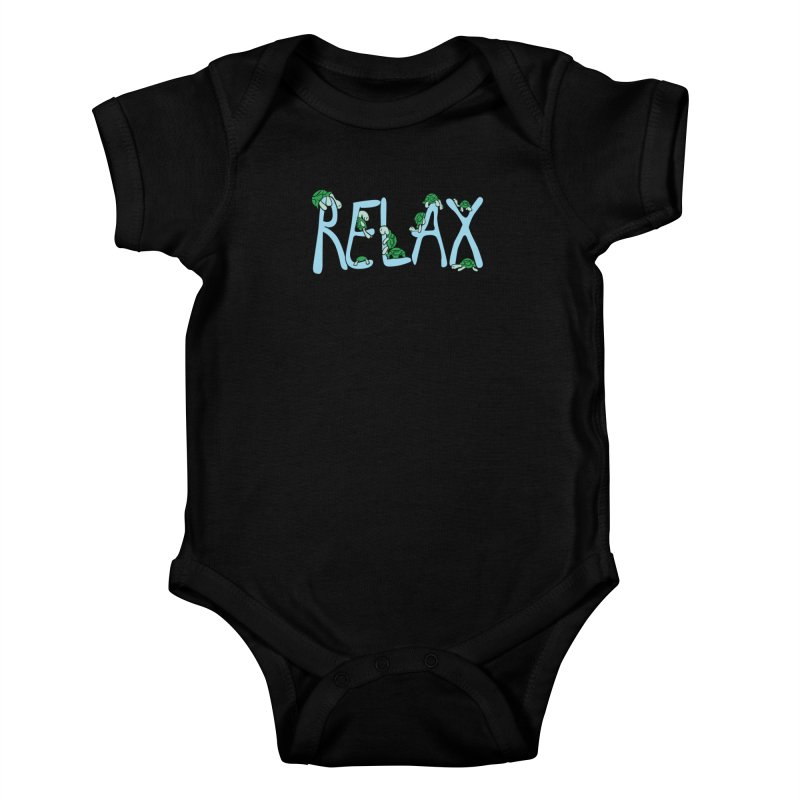 Relax Kids Baby Bodysuit by Coffee Pine Studio