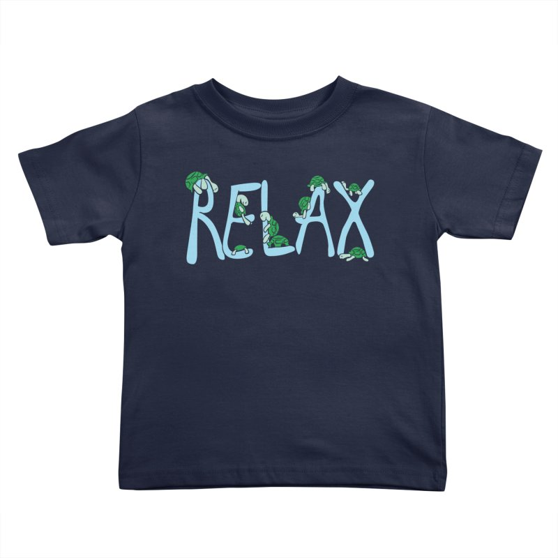 Relax Kids Toddler T-Shirt by Coffee Pine Studio