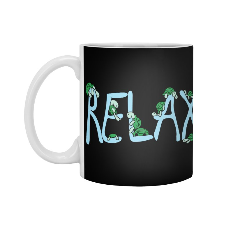 Relax Accessories Standard Mug by Coffee Pine Studio