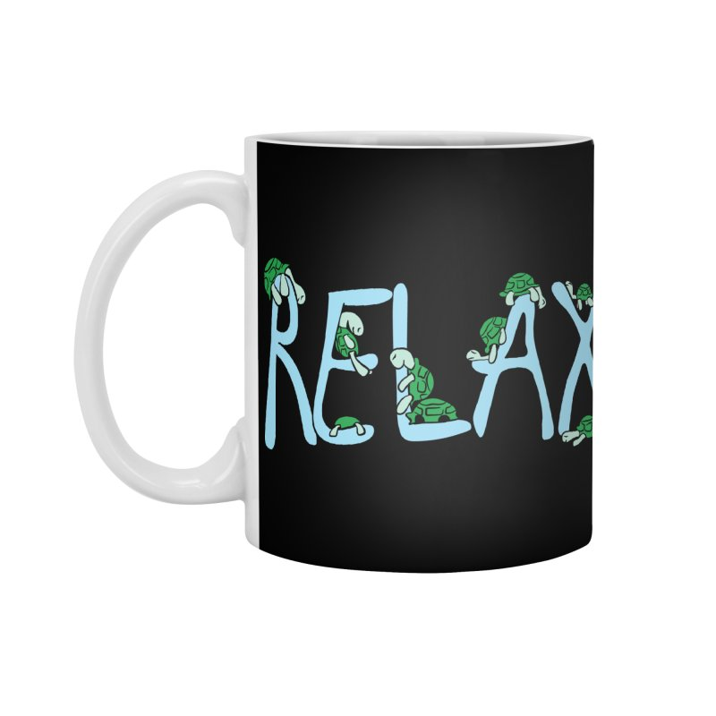 Relax Accessories Mug by Coffee Pine Studio