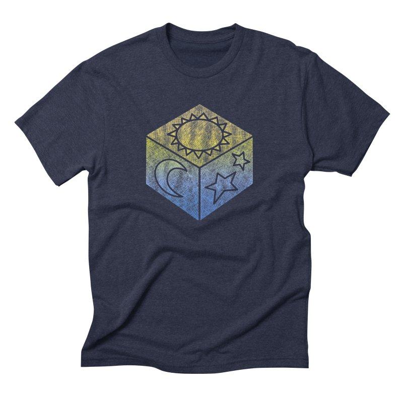Sun Moon & Stars Men's T-Shirt by Coffee Pine Studio
