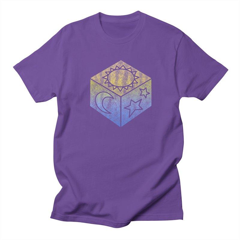 Sun Moon & Stars Women's Regular Unisex T-Shirt by Coffee Pine Studio
