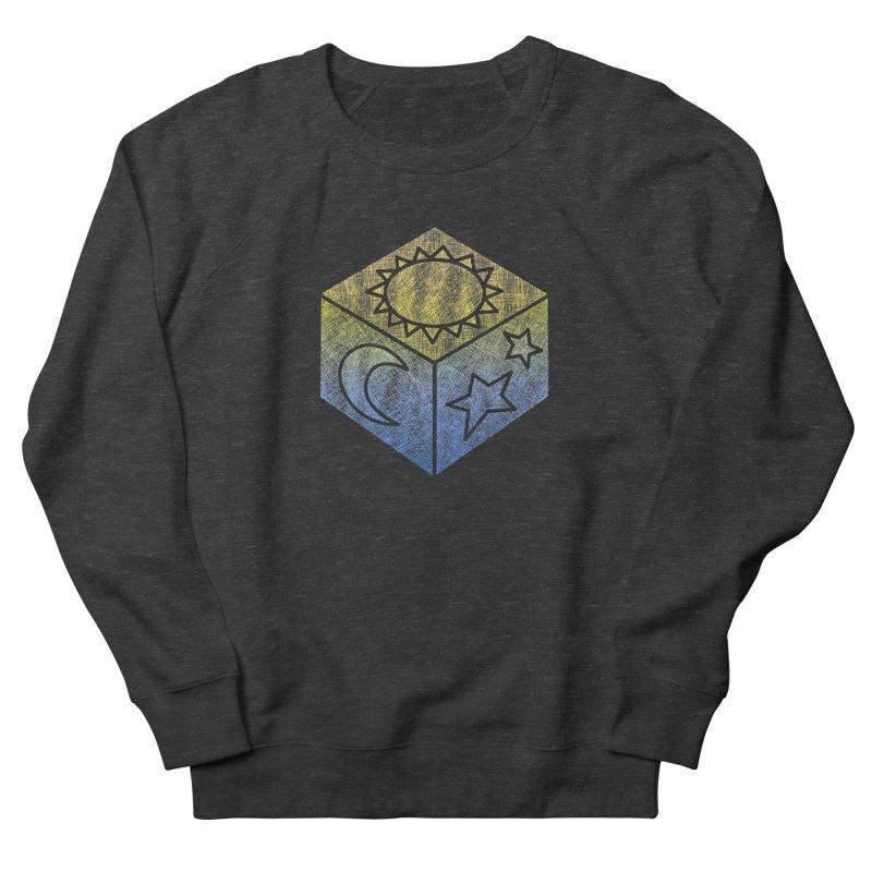 Sun Moon & Stars Women's Sweatshirt by Coffee Pine Studio