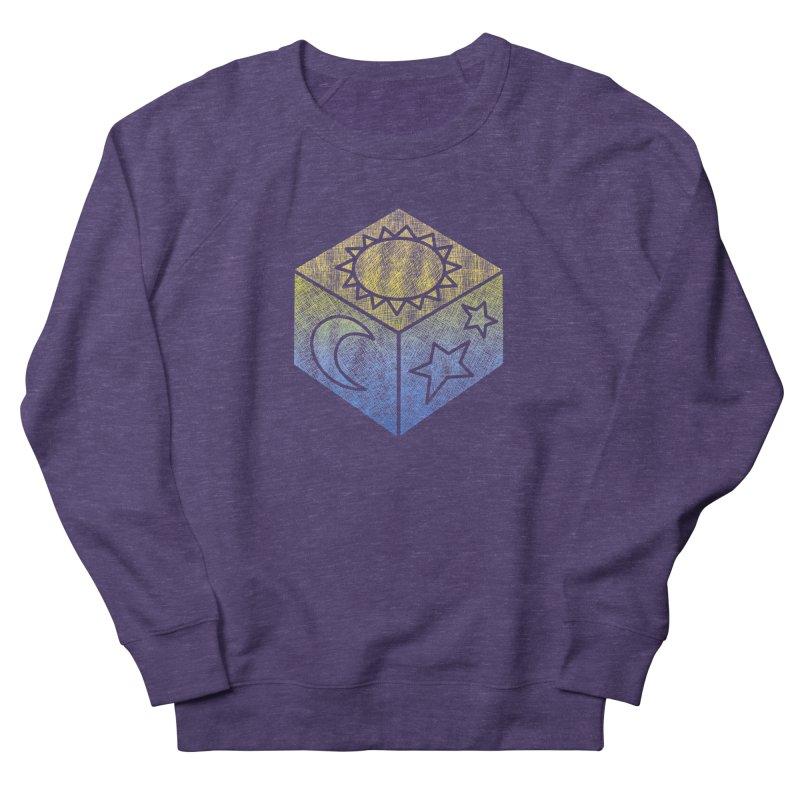 Sun Moon & Stars Men's Sweatshirt by Coffee Pine Studio