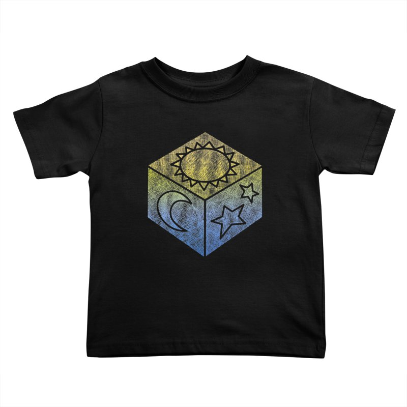 Sun Moon & Stars Kids Toddler T-Shirt by Coffee Pine Studio