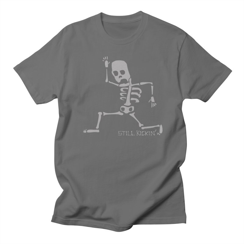 Still Kickin' Women's Unisex T-Shirt by Coffee Pine Studio