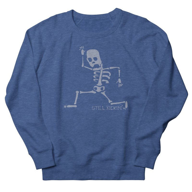 Still Kickin' Men's French Terry Sweatshirt by Coffee Pine Studio