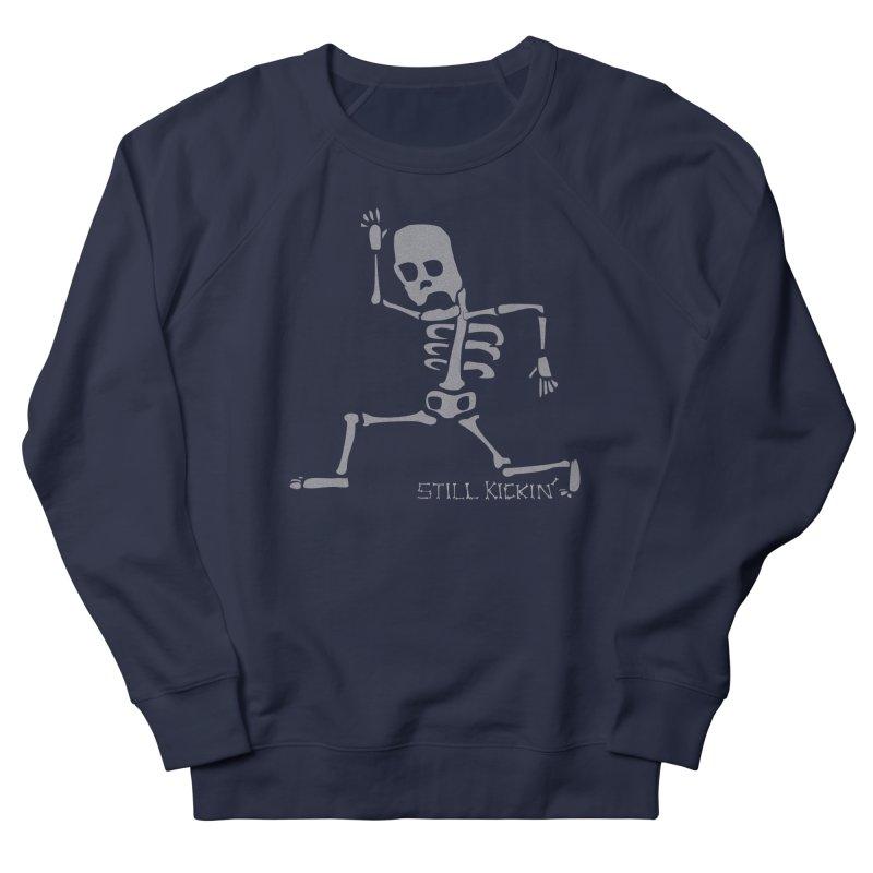 Still Kickin' Men's French Terry Sweatshirt by Coffee Pine Studio