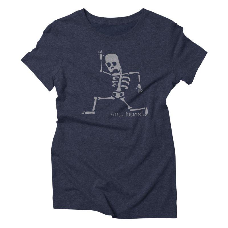 Still Kickin' Women's Triblend T-shirt by Coffee Pine Studio