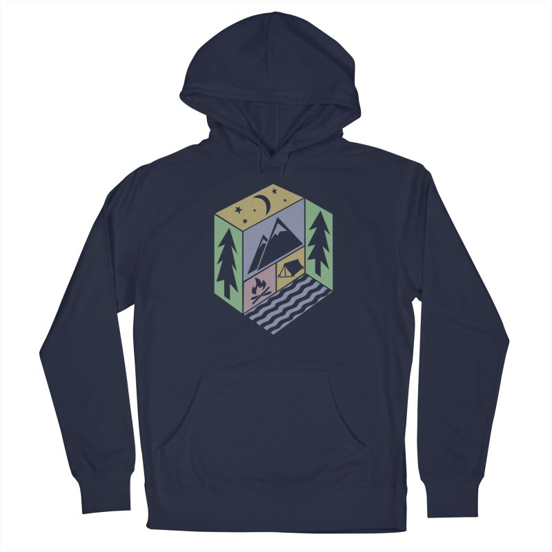 Capture the Outdoors Women's French Terry Pullover Hoody by Coffee Pine Studio