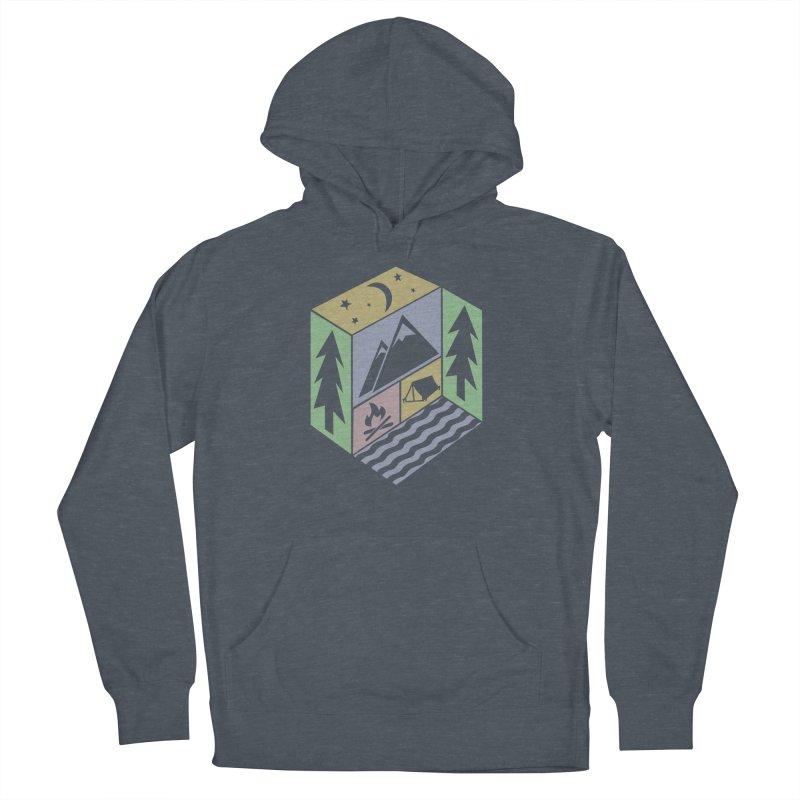 Capture the Outdoors Men's French Terry Pullover Hoody by Coffee Pine Studio
